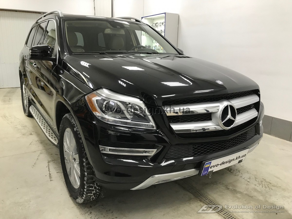 Mercedes-Benz GL установка ксенона